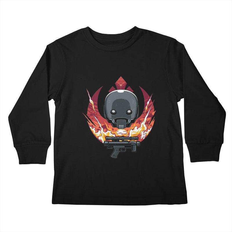 Rebellion Droid Kids Longsleeve T-Shirt by anggatantama's Artist Shop