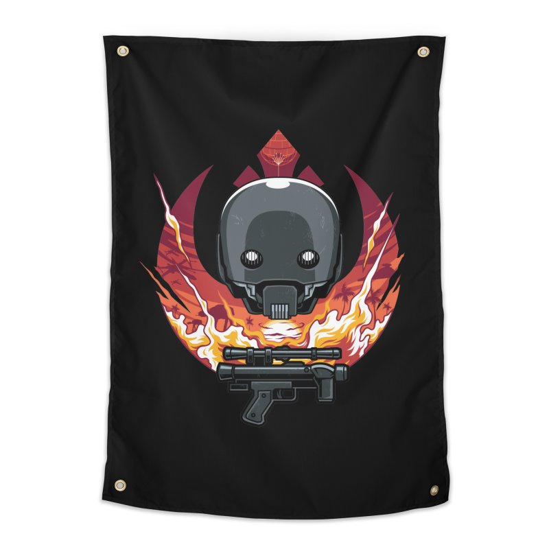 Rebellion Droid Home Tapestry by anggatantama's Artist Shop