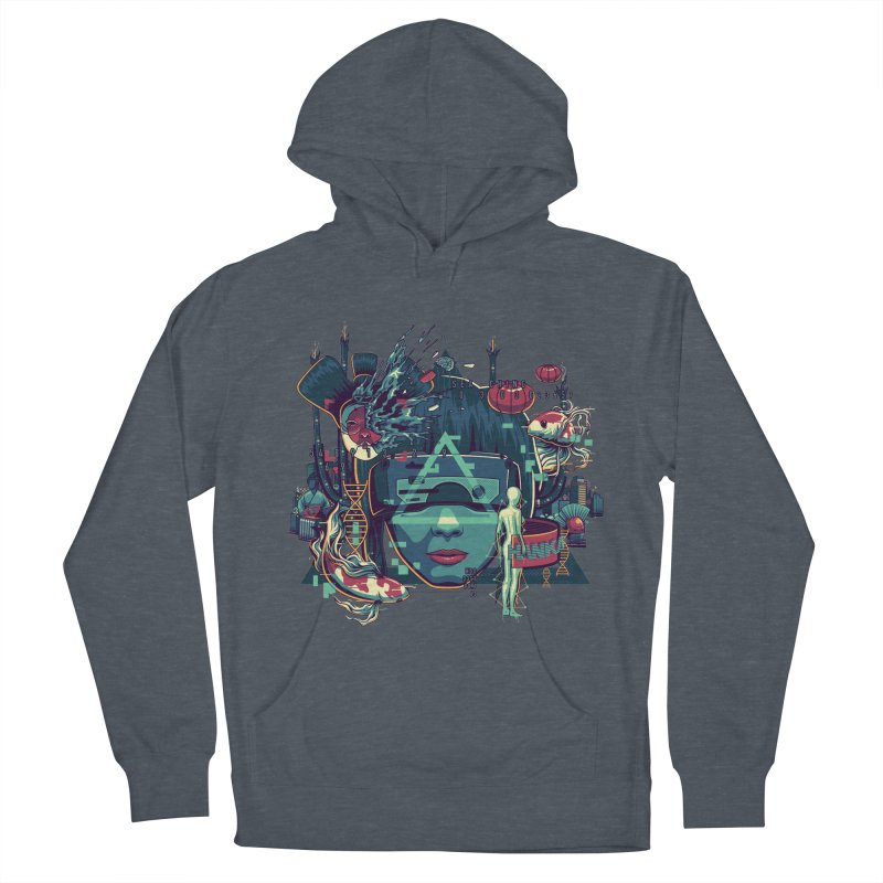 The Ghost Men's Pullover Hoody by anggatantama's Artist Shop