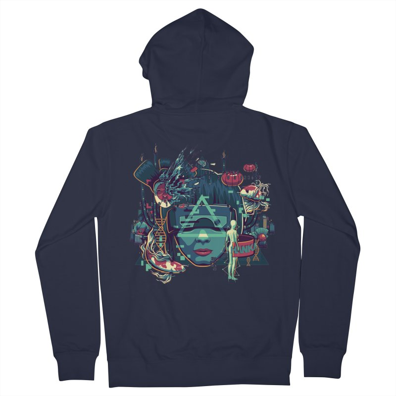 The Ghost Women's Zip-Up Hoody by anggatantama's Artist Shop