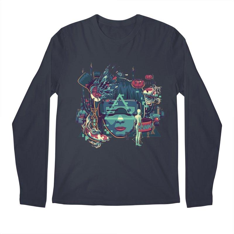 The Ghost Men's Longsleeve T-Shirt by anggatantama's Artist Shop