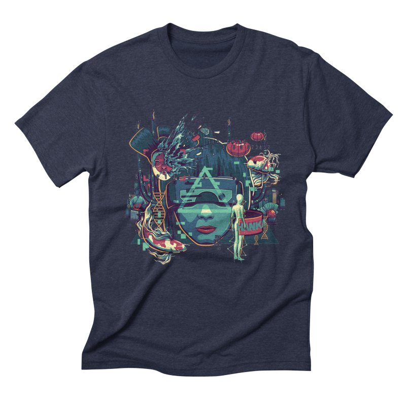 The Ghost Men's Triblend T-Shirt by anggatantama's Artist Shop