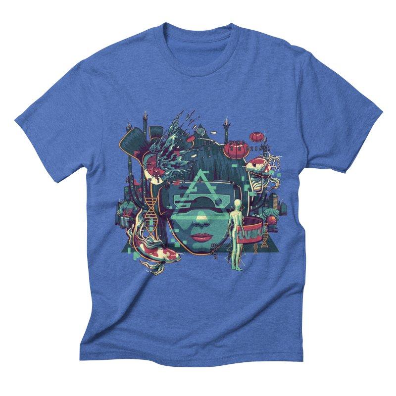The Ghost Men's Triblend T-shirt by anggatantama's Artist Shop