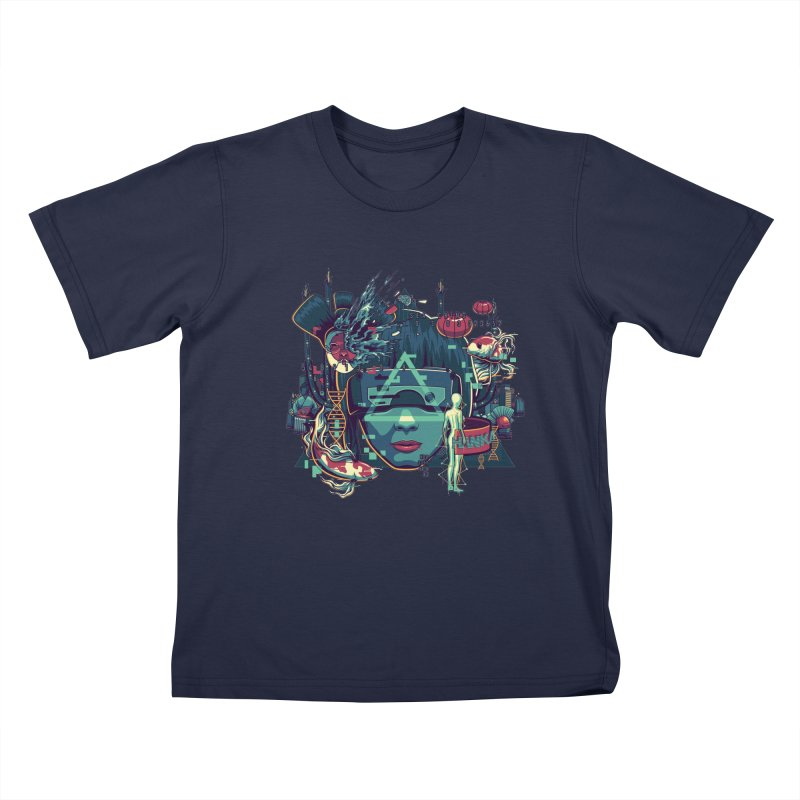 The Ghost Kids Toddler T-Shirt by anggatantama's Artist Shop