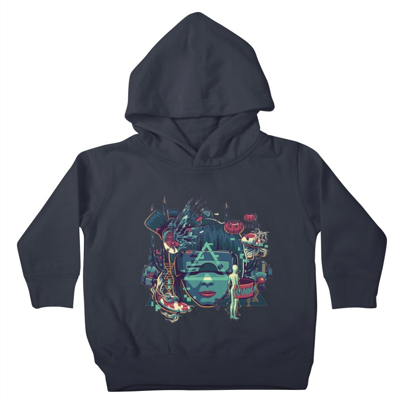 The Ghost Kids Toddler Pullover Hoody by anggatantama's Artist Shop