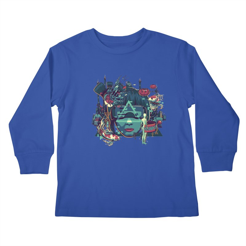 The Ghost Kids Longsleeve T-Shirt by anggatantama's Artist Shop
