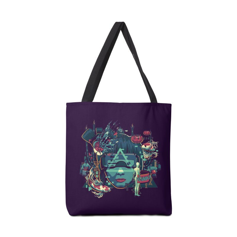 The Ghost Accessories Bag by anggatantama's Artist Shop