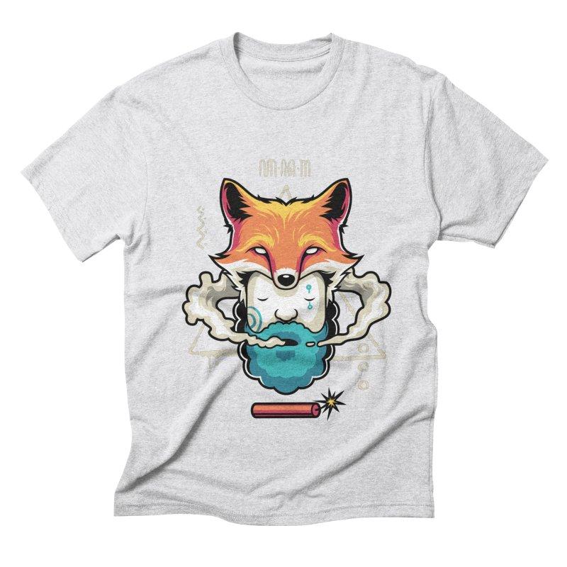 TRIBAL Men's Triblend T-shirt by anggatantama's Artist Shop