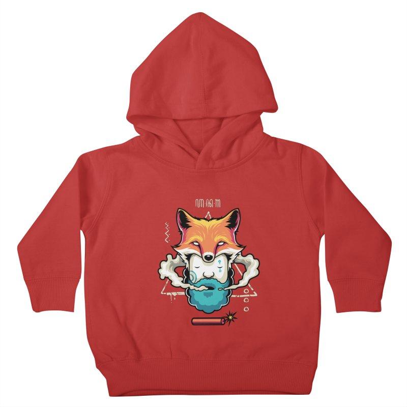 TRIBAL Kids Toddler Pullover Hoody by anggatantama's Artist Shop