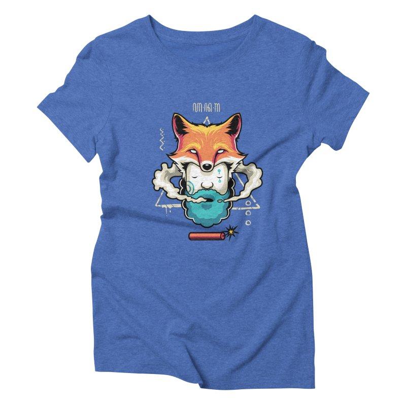 TRIBAL Women's Triblend T-Shirt by anggatantama's Artist Shop