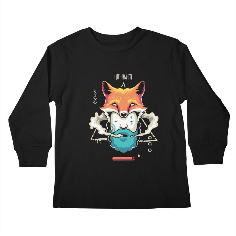 TRIBAL Kids Longsleeve T-Shirt by anggatantama's Artist Shop