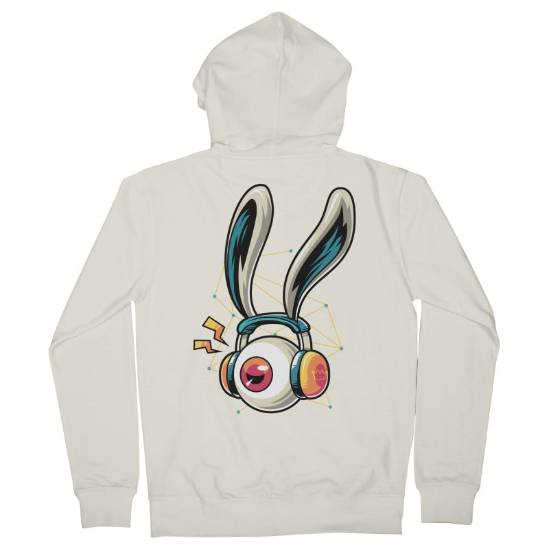 Enjoy The Beat Women's Zip-Up Hoody by anggatantama's Artist Shop