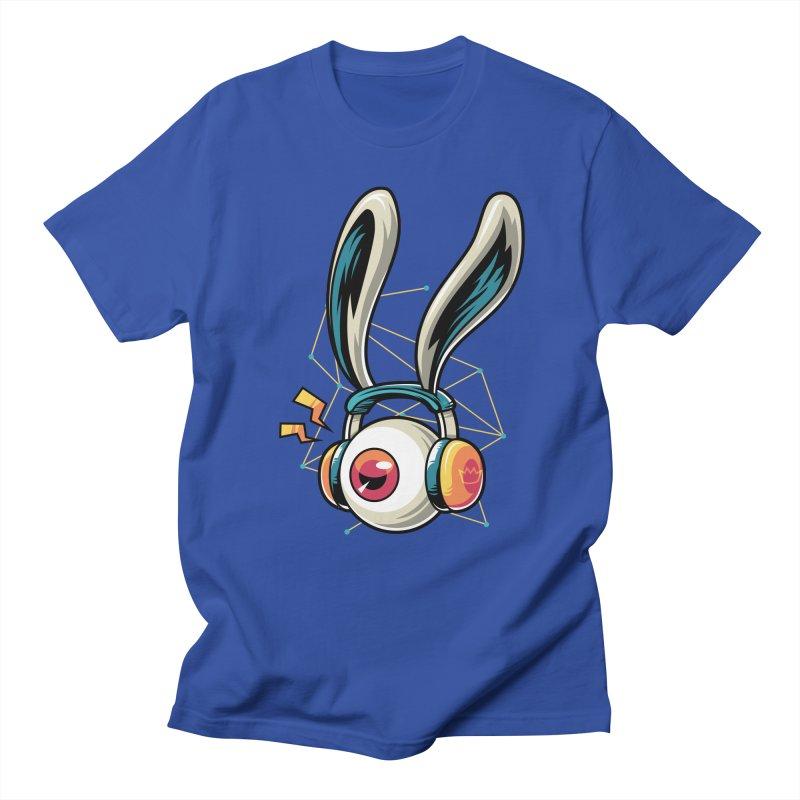 Enjoy The Beat Men's T-Shirt by anggatantama's Artist Shop