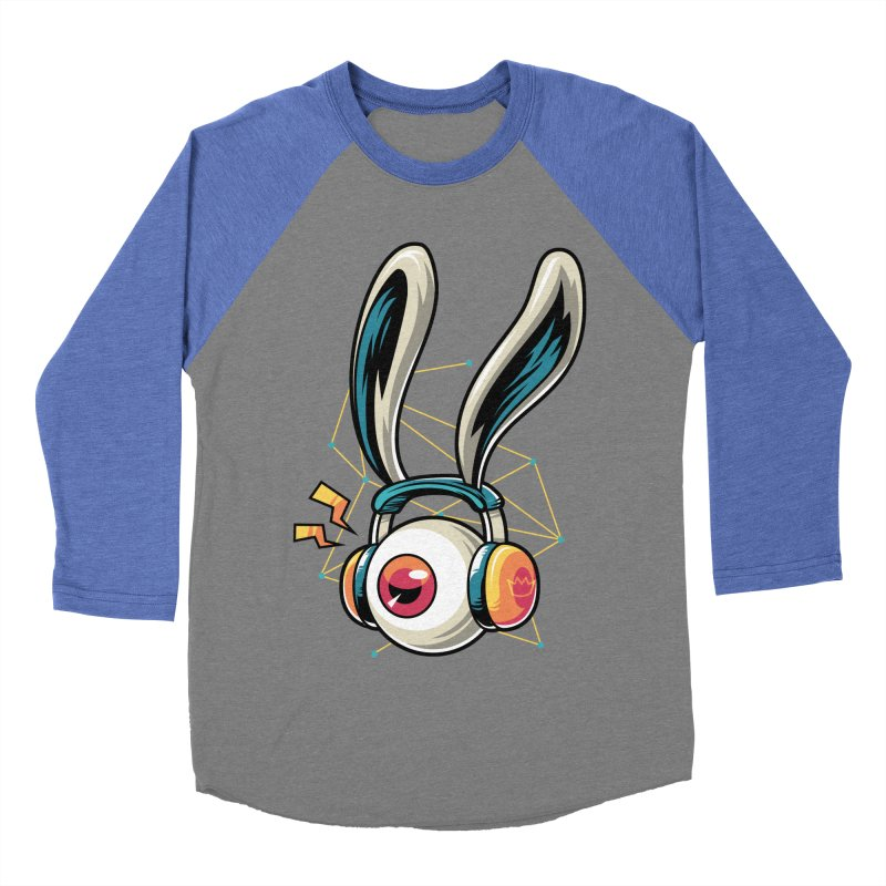 Enjoy The Beat Women's Baseball Triblend T-Shirt by anggatantama's Artist Shop