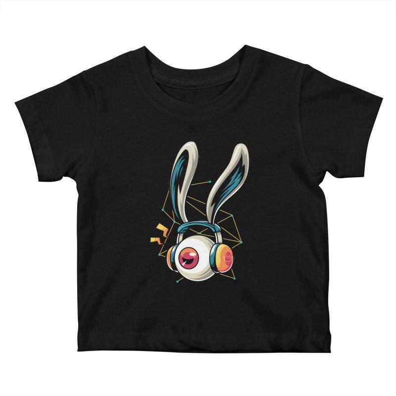Enjoy The Beat Kids Baby T-Shirt by anggatantama's Artist Shop