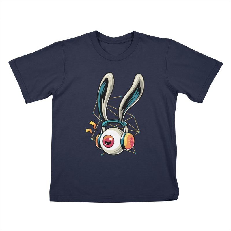 Enjoy The Beat Kids Toddler T-Shirt by anggatantama's Artist Shop