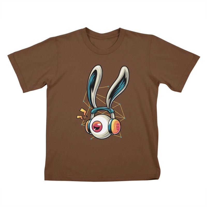 Enjoy The Beat Kids T-Shirt by anggatantama's Artist Shop