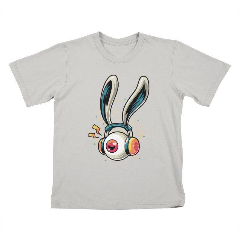 Enjoy The Beat Kids T-Shirt by anggatantama's Artist Shop