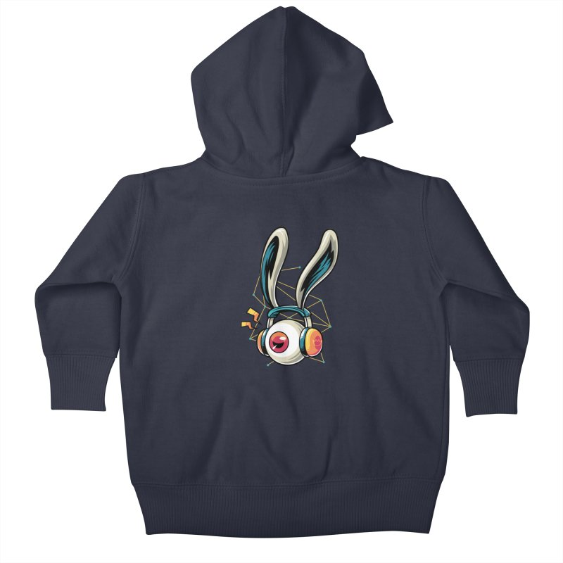 Enjoy The Beat Kids Baby Zip-Up Hoody by anggatantama's Artist Shop