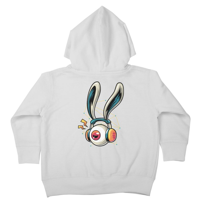 Enjoy The Beat Kids Toddler Zip-Up Hoody by anggatantama's Artist Shop