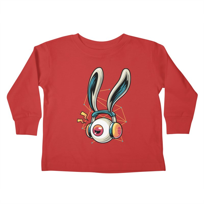 Enjoy The Beat Kids Toddler Longsleeve T-Shirt by anggatantama's Artist Shop