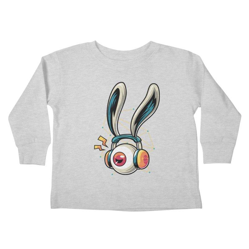 Enjoy The Beat Kids Toddler Longsleeve T-Shirt by anggatantama's Artist Shop