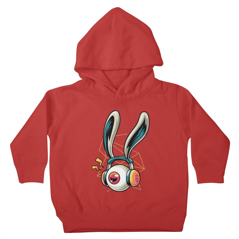 Enjoy The Beat Kids Toddler Pullover Hoody by anggatantama's Artist Shop