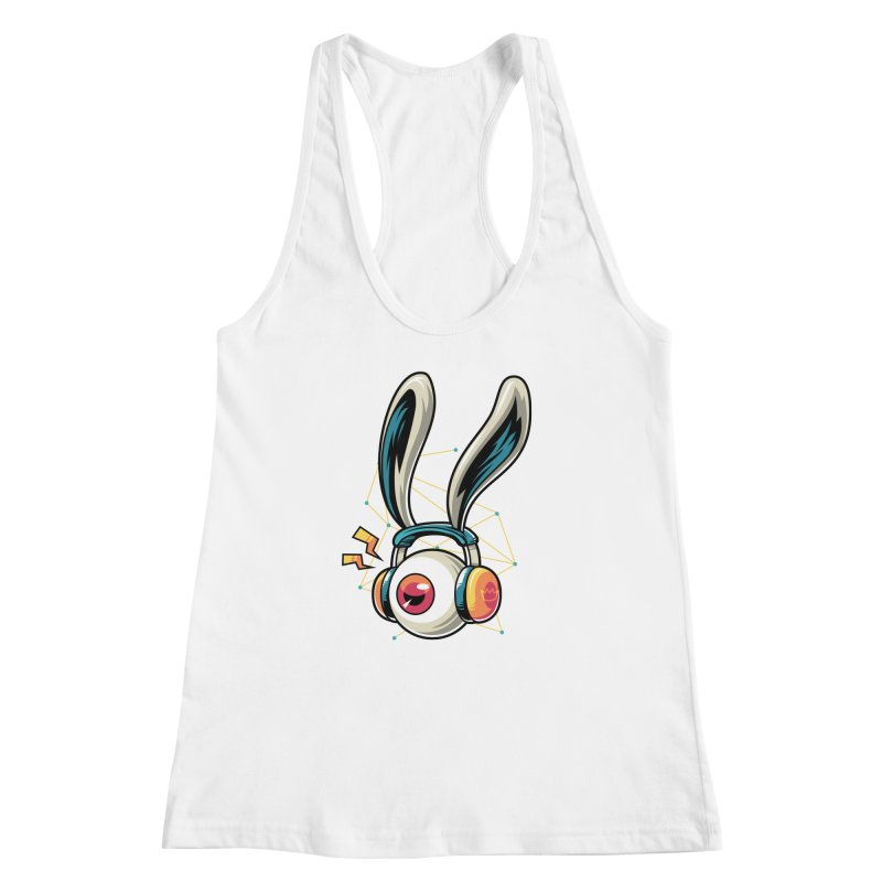Enjoy The Beat Women's Racerback Tank by anggatantama's Artist Shop