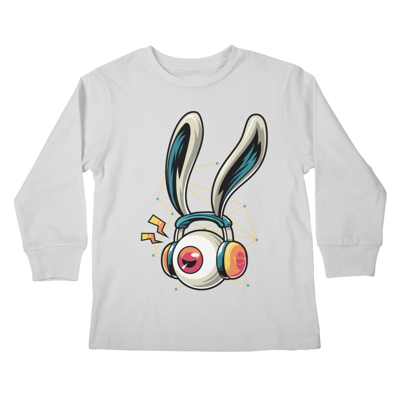 Enjoy The Beat Kids Longsleeve T-Shirt by anggatantama's Artist Shop