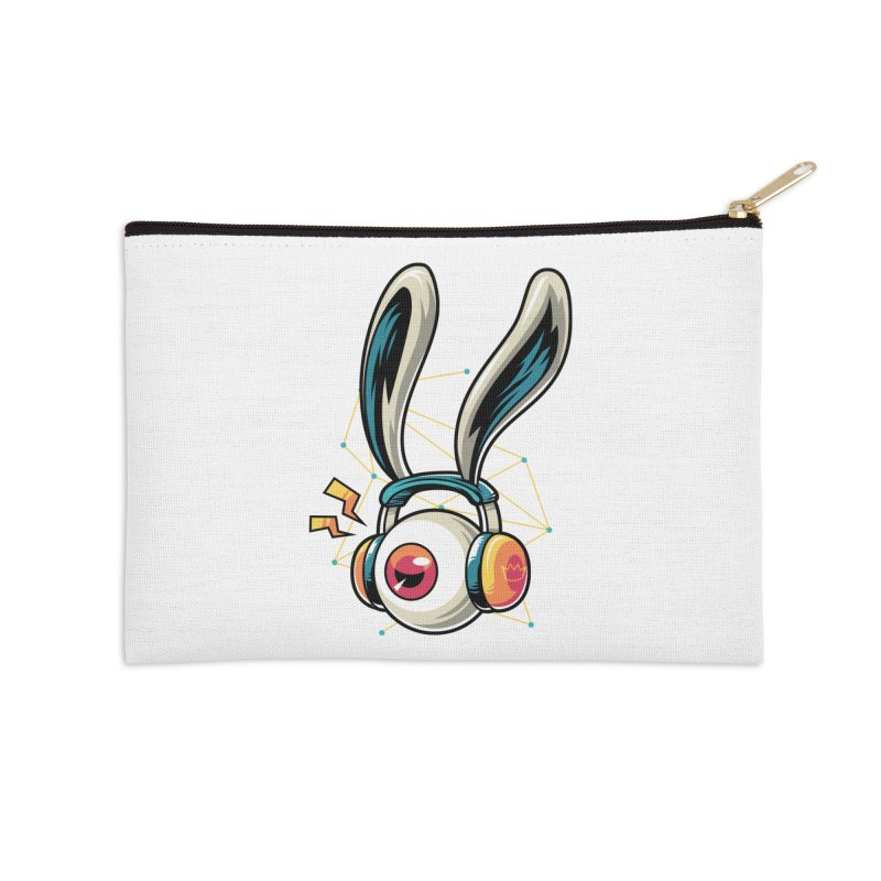 Enjoy The Beat Accessories Zip Pouch by anggatantama's Artist Shop