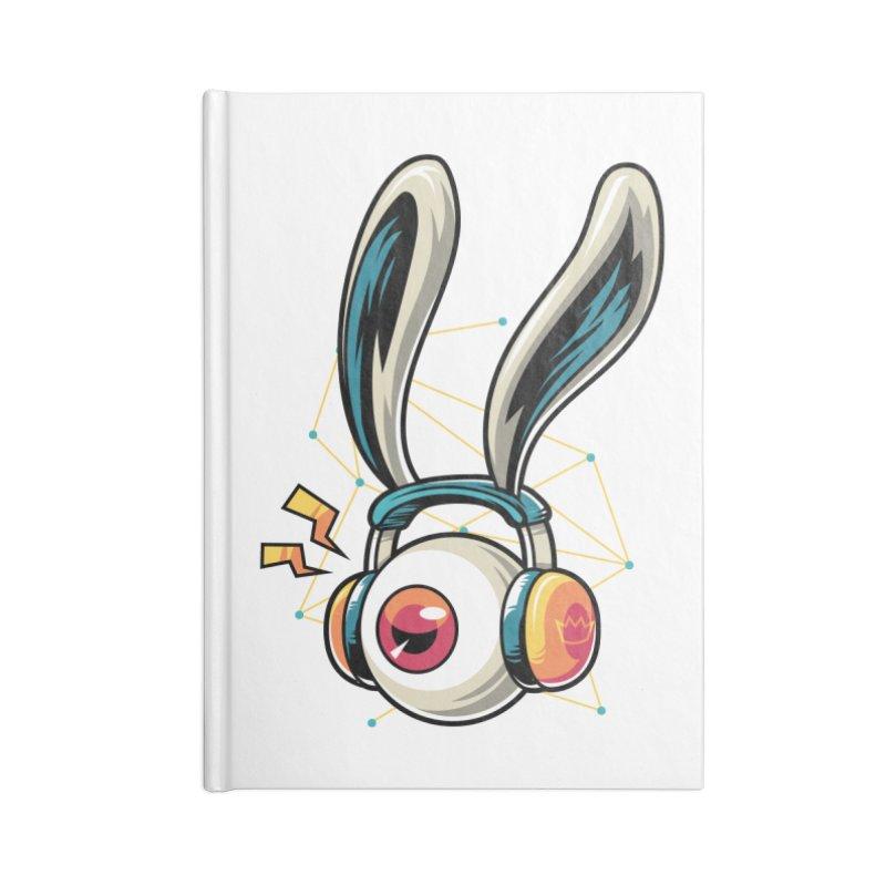 Enjoy The Beat Accessories Notebook by anggatantama's Artist Shop