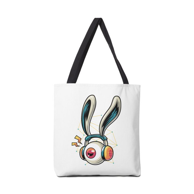 Enjoy The Beat Accessories Bag by anggatantama's Artist Shop