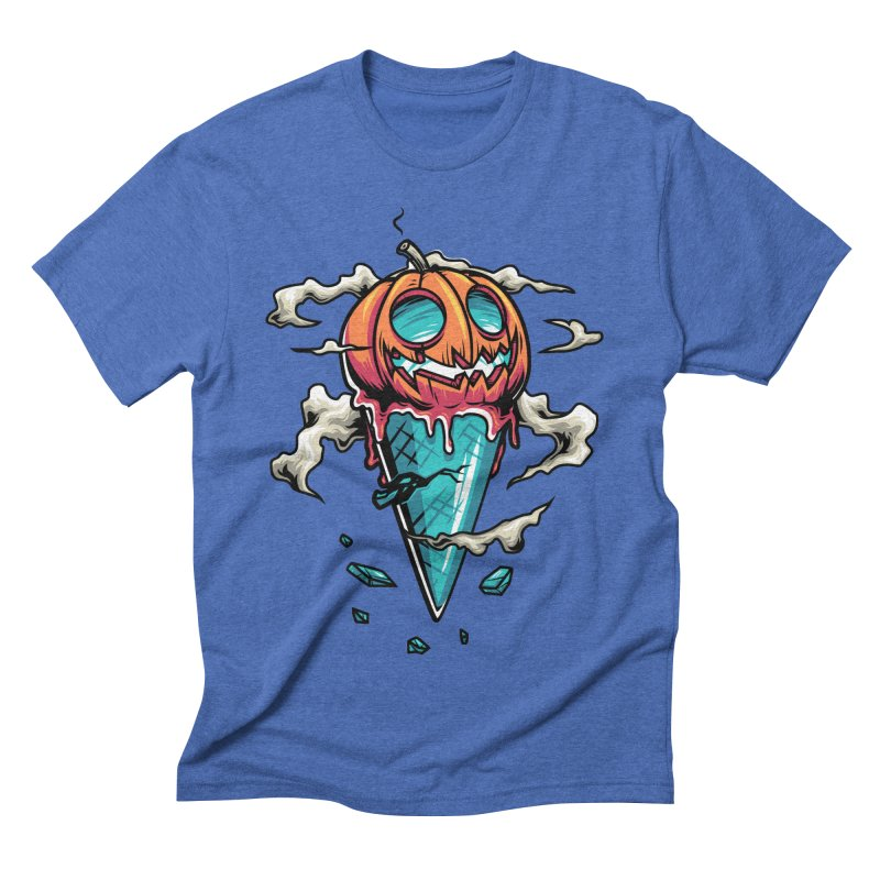 Halloween Men's Triblend T-Shirt by anggatantama's Artist Shop