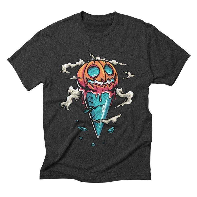 Halloween Men's Triblend T-shirt by anggatantama's Artist Shop