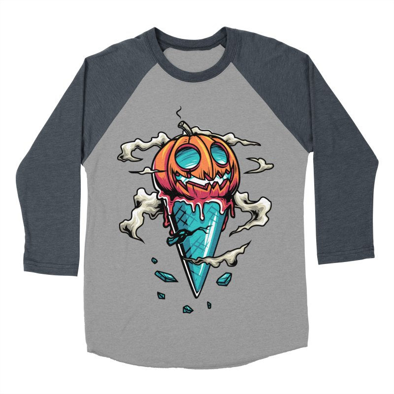 Halloween Women's Baseball Triblend T-Shirt by anggatantama's Artist Shop