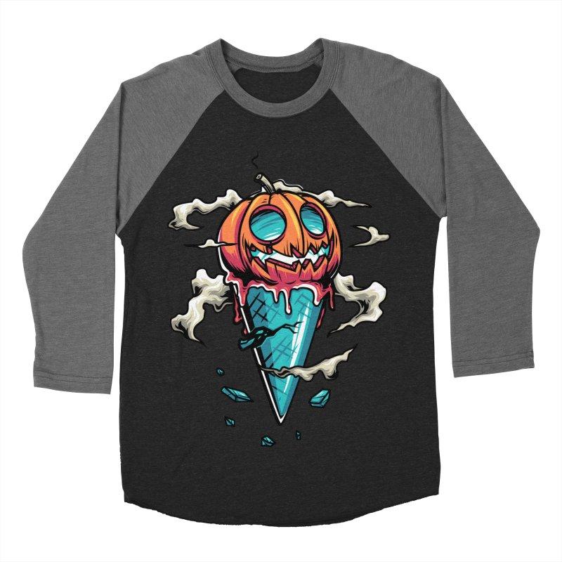 Halloween Men's Baseball Triblend T-Shirt by anggatantama's Artist Shop
