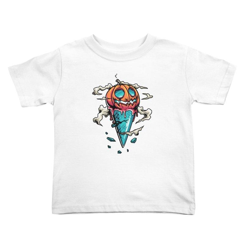 Halloween Kids Toddler T-Shirt by anggatantama's Artist Shop