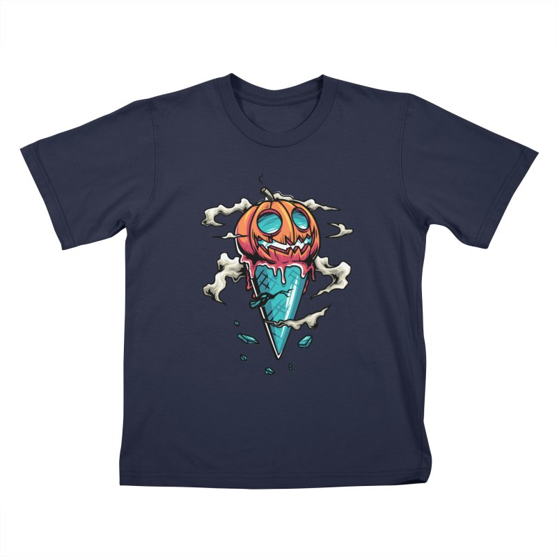 Halloween Kids T-Shirt by anggatantama's Artist Shop