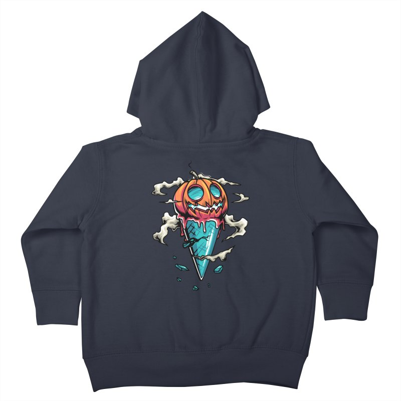Halloween Kids Toddler Zip-Up Hoody by anggatantama's Artist Shop