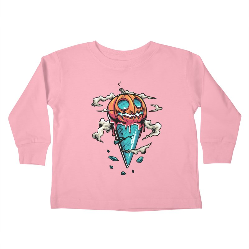 Halloween Kids Toddler Longsleeve T-Shirt by anggatantama's Artist Shop