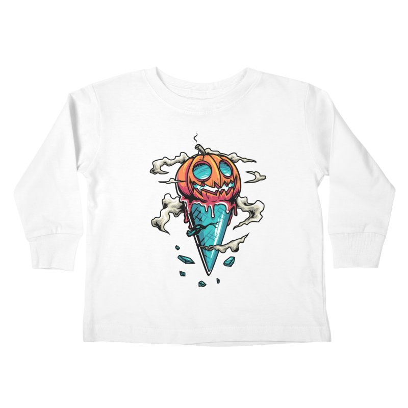 Halloween Kids Toddler Longsleeve T-Shirt by anggatantama's Artist Shop