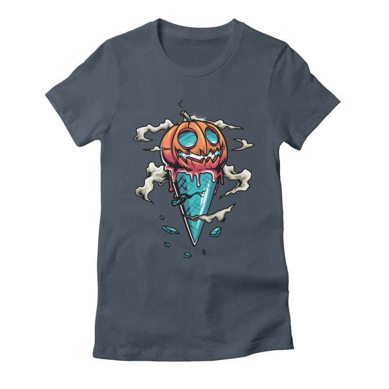 Halloween Women's Fitted T-Shirt by anggatantama's Artist Shop