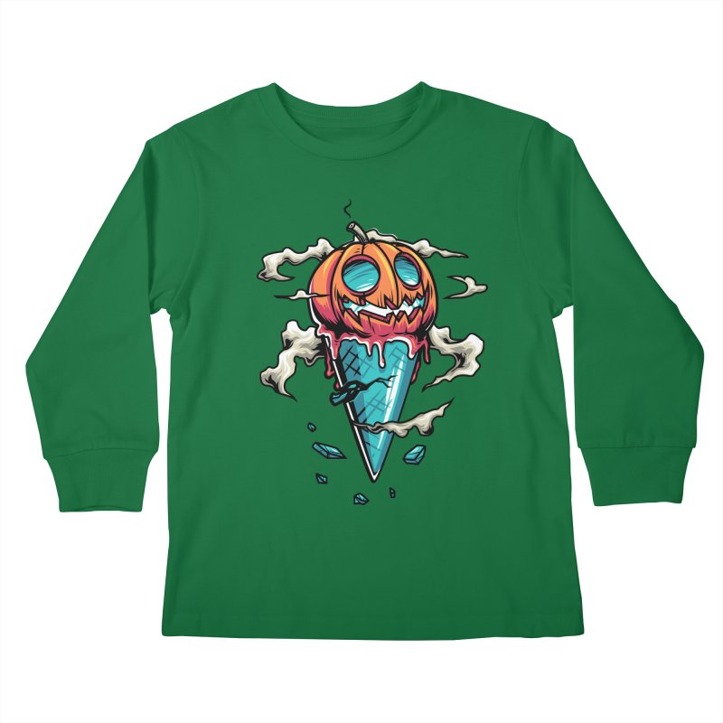 Halloween Kids Longsleeve T-Shirt by anggatantama's Artist Shop