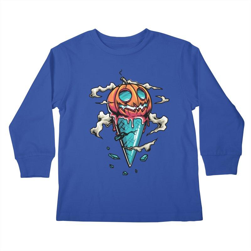Halloween Kids Longsleeve T-Shirt by anggatantama's Artist Shop