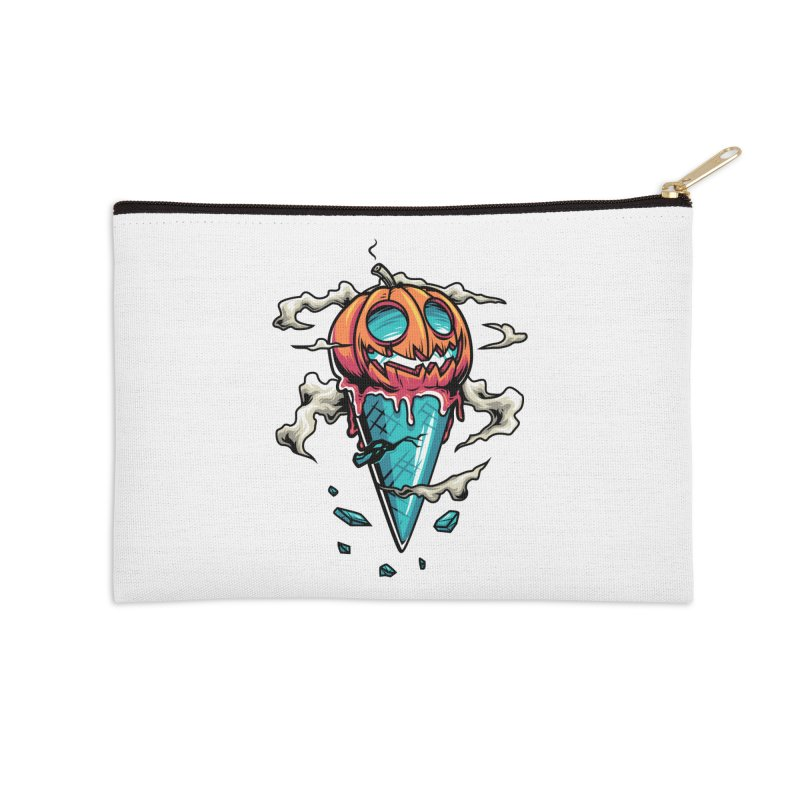 Halloween Accessories Zip Pouch by anggatantama's Artist Shop