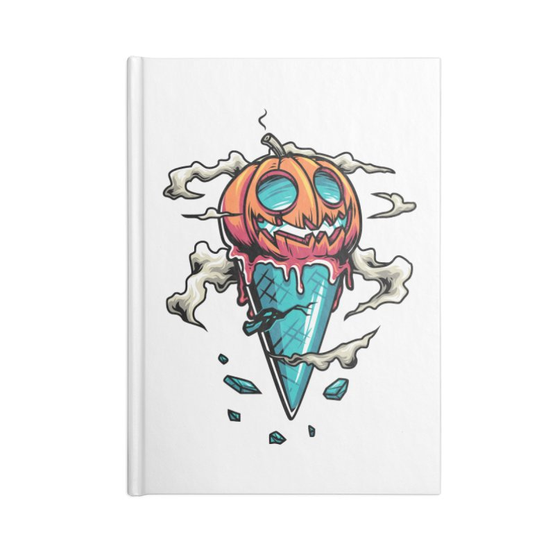 Halloween Accessories Notebook by anggatantama's Artist Shop