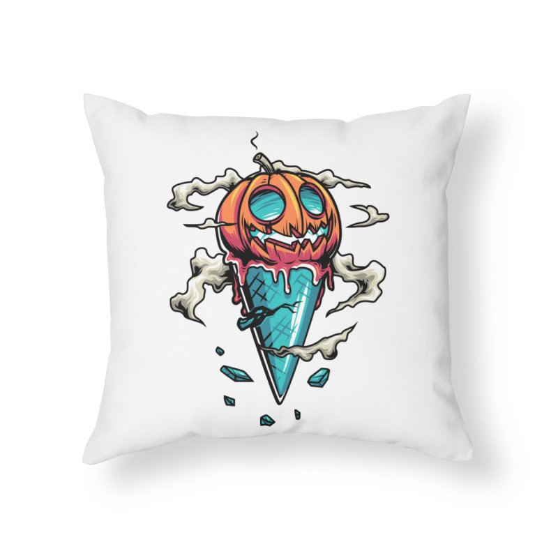 Halloween Home Throw Pillow by anggatantama's Artist Shop