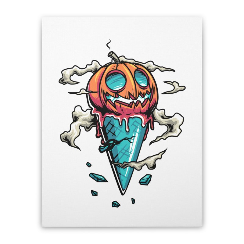 Halloween Home Stretched Canvas by anggatantama's Artist Shop