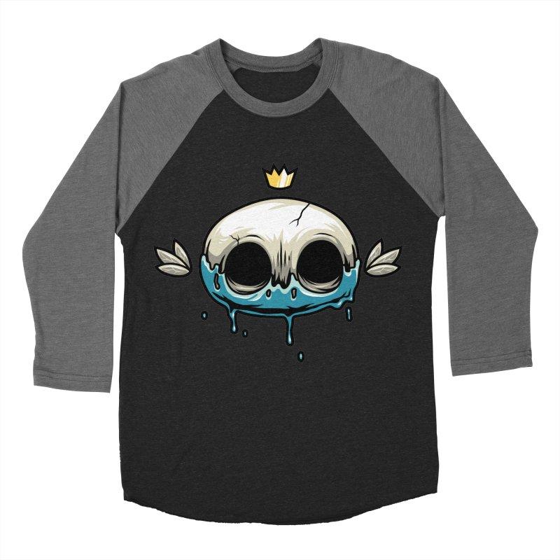 Skull Women's Baseball Triblend T-Shirt by anggatantama's Artist Shop