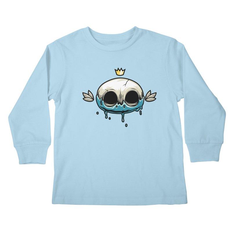 Skull Kids Longsleeve T-Shirt by anggatantama's Artist Shop